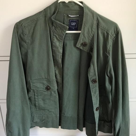 GAP Jackets & Blazers - Hardly worn green Gap jacket